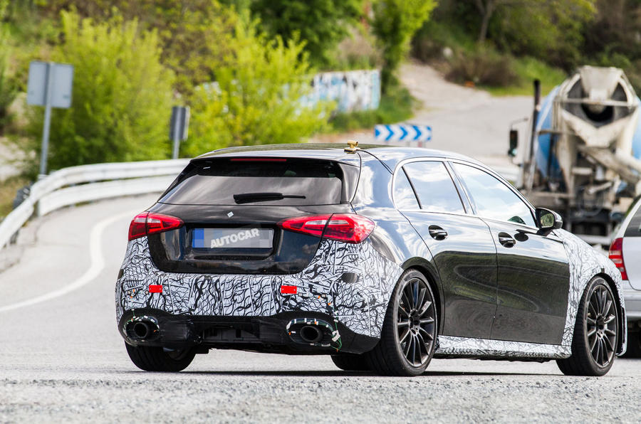 Mercedes AMG A35 To Take On Golf R With 300 HP 223 KW
