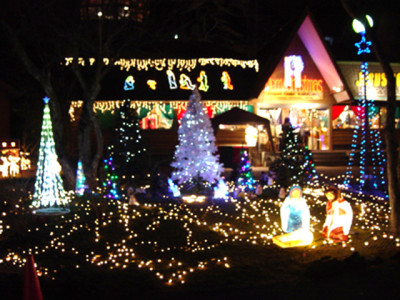 神戸のクリスマスイルミネーション