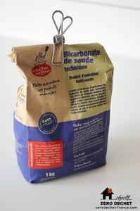 Bicarbonate de soude recettes zéro déchet