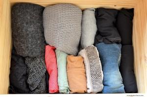 Exemple rangement vêtements