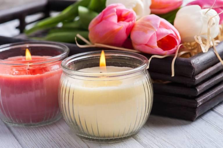 Des bougies naturelles à faire soi-même