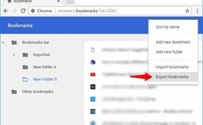 Where Are Chrome Bookmarks Stored In Windows 10 Pc