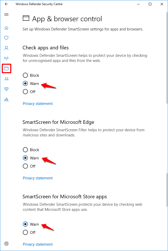 windows smartscreen can't be reached right now