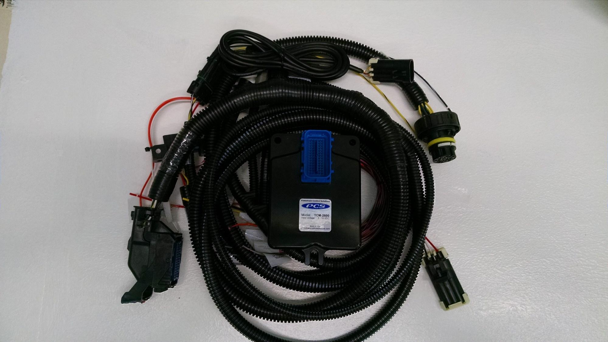 hight resolution of tcm 2650 gm 6l50e 6l80e 6l90e transmission controller w harness