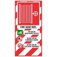 Fire Hose Reel Sign  200400  Zero Harm Farm