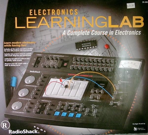 Radio Shack Electronics Learning Lab