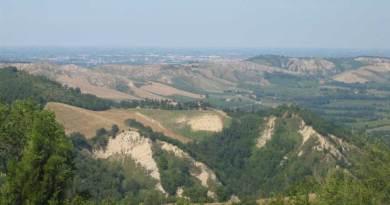 Le dolci colline di San Martino in Monte.