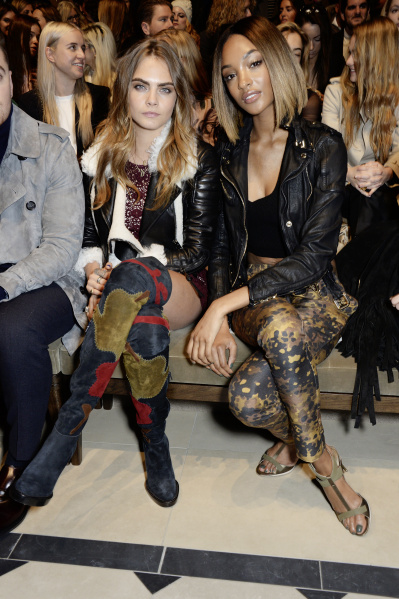 Cara Delevingne and Jourdan Dunn