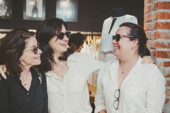 Lucia Rebello, Monica Ridolfi e Cecília Bulhões