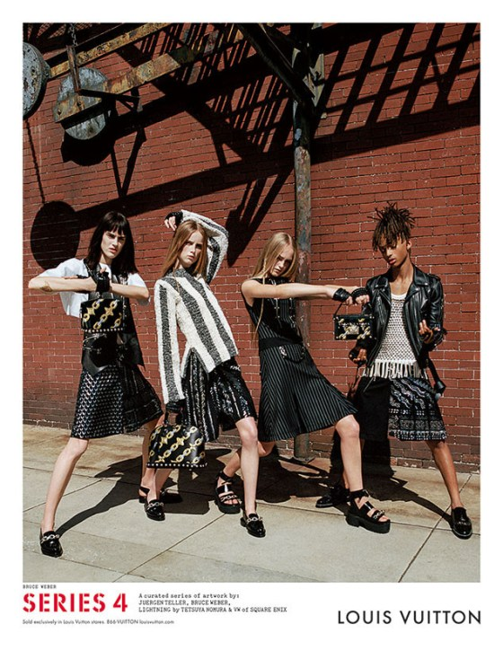 A nova publicidade da Louis Vuitton com Jaden Smith Foto Buce Weber