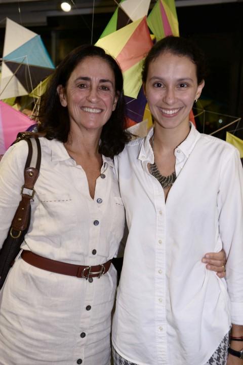 Biza Mendes de Almeida e Maria Davies