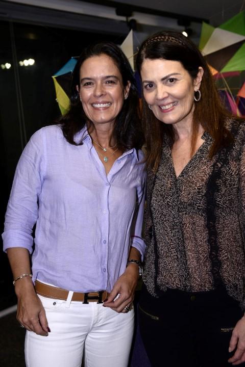 Luciana Guaranys e Tininha Machado Coelho