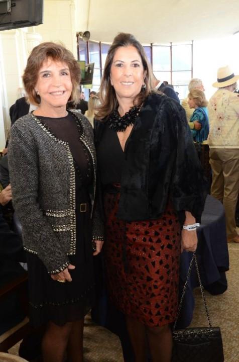 Gilda Gros e Helena Taunay
