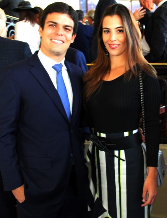 Matheus Gouvea e Elisa Taunay