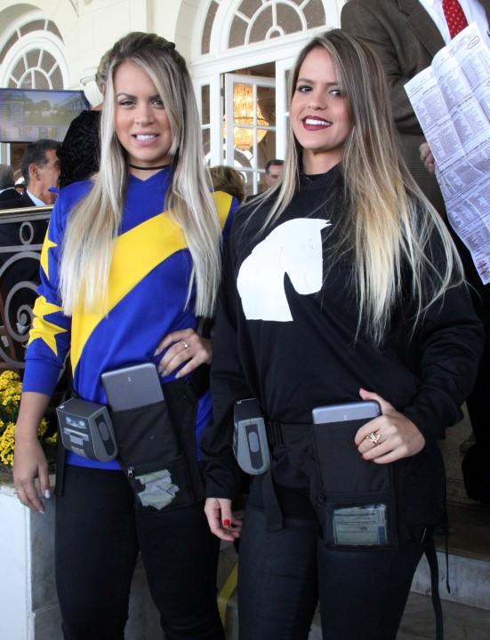 Priscila Moura e Mayara Carvalho