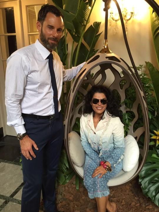 Benoit Vuitton e Elsaine Von Blankenhagen
