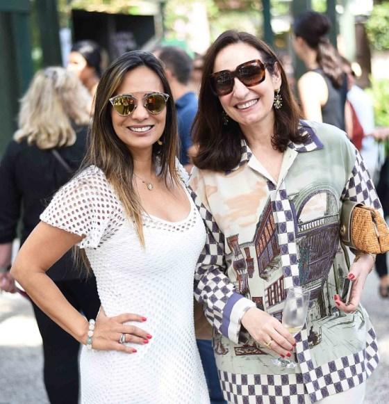 Marcia Romão e Ana Clara Tenenbaum