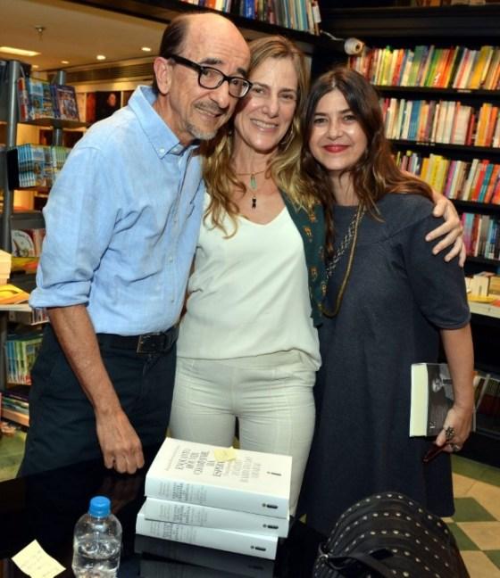 Joaquim Ferreira dos Santos, Dedina Bernadelli e Maria Clara Mattos