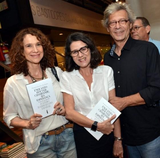 Jackie Sperandio, Lucia Karabtchevsky e Alfredo Grosso