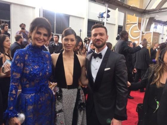 Micheline Eltikin e Jessica Biel e Justin Timberlake