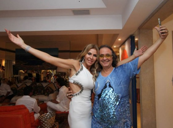 Nina Stevens e José Ronaldo müller