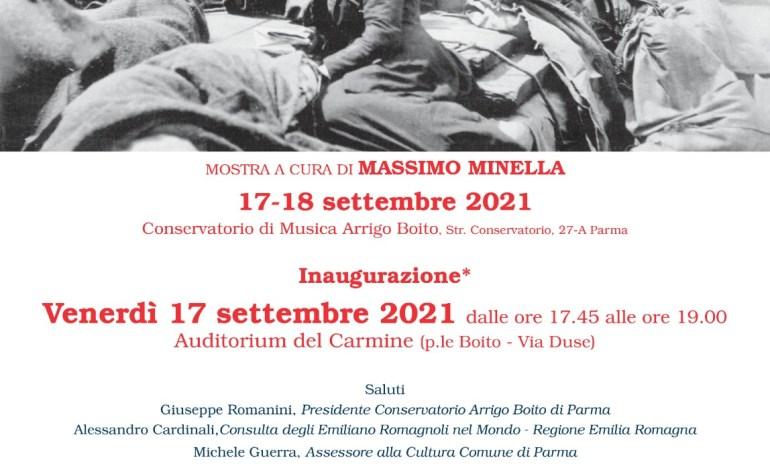 """Venerdì e sabato a Parma la mostra """"DAGLI APPENNINI ALLE ANDE"""" dedicata alle storie di emigrazione"""