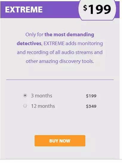 FlexiSPY Extreme Version Price