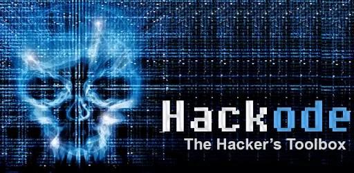 Hackode-the hackers toolbox