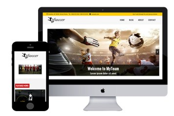 zSoccer – Free Responsive Html5 Template