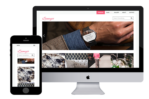 free zSawyer responsive html5 template
