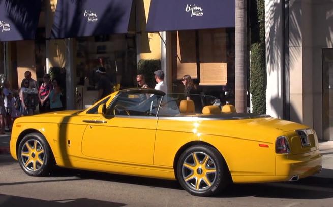 Bijan Rolls Royce