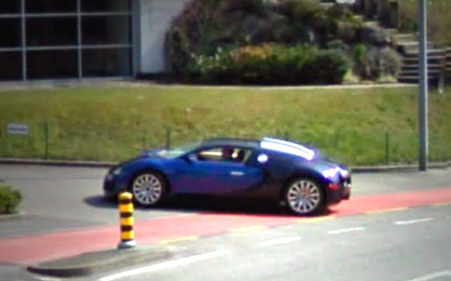 Google Maps Exotic Cars
