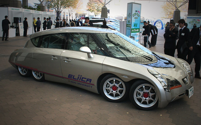 Eliica Electric Car