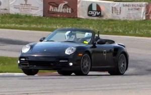 Porsche 911 Carerra S Cabriolet Racing