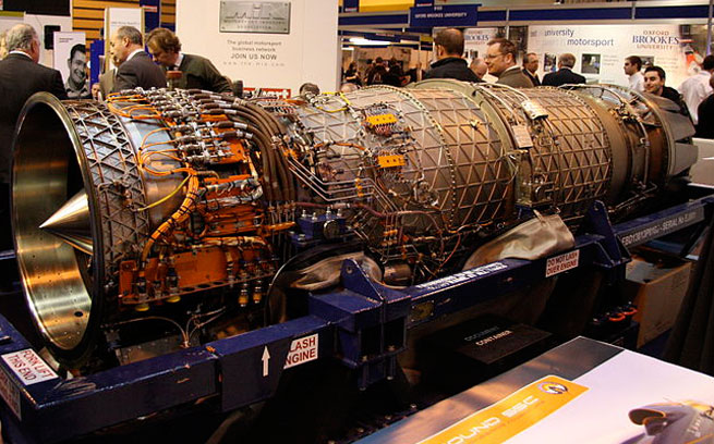 BLOODHOUND SSC Engine