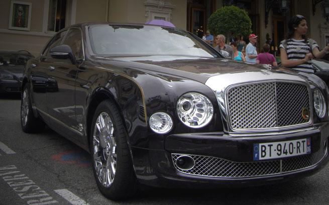 Monte Carlo Casino Cars