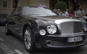 Exotic Cars captured outside The Monte Carlo Casino in Monaco