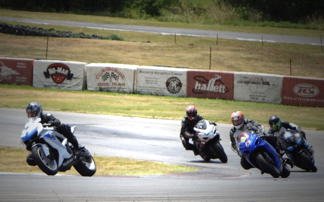 Motorcycles Racing