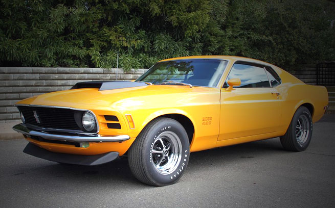 American Muscle Car List