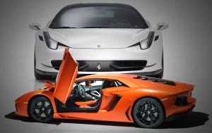 Ferrari versus Lamborghini