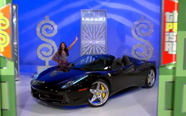 Price Is Right Ferrari Prize
