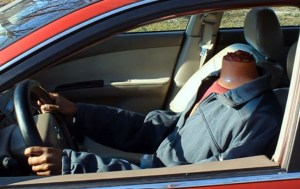 Humorous Headless Drive Thru Car Prank