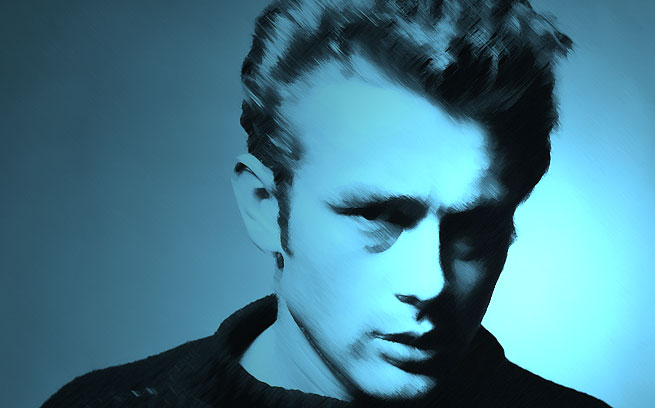 James Dean Artwork