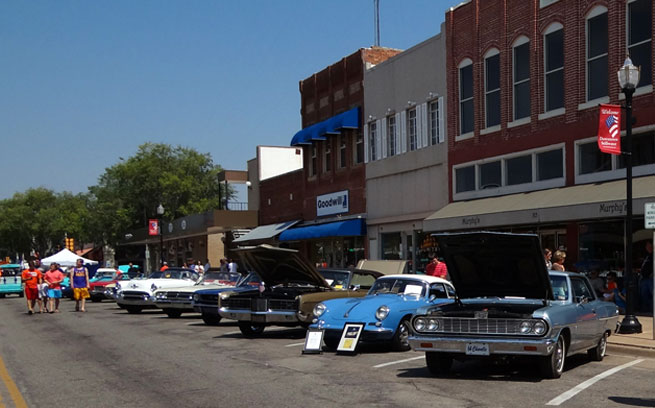 Small Town Car Show