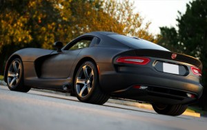 Wicked SRT Viper Wrapped in Black Mamba Snakeskin