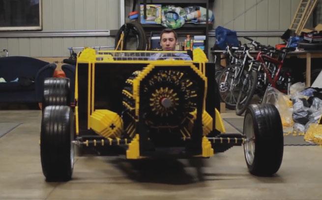 Full Size Lego Cars
