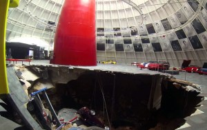 Sinkhole Devours Valuable Cars at the National Corvette Museum