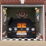 garage door muralsInteresting and Funny Garage Door Murals  Zero To 60 Times