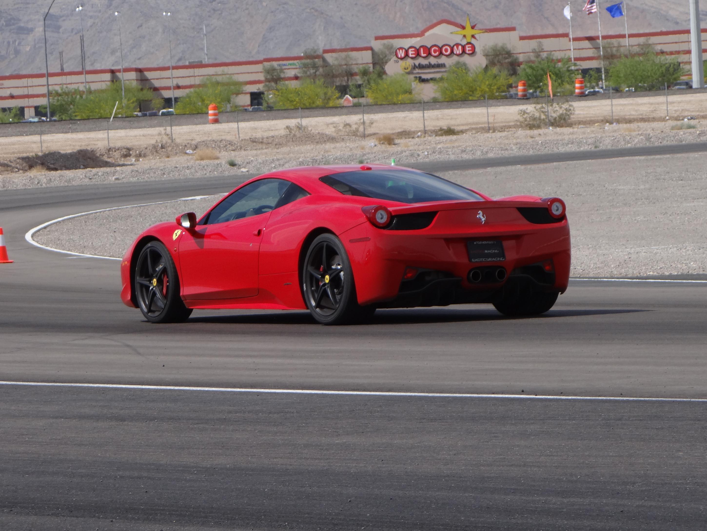Ferrari 458 Italia Experience At Exotics Racing Vegas