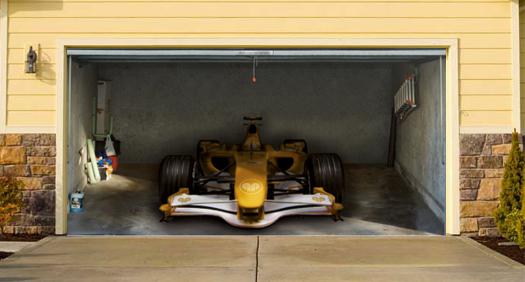 sweet garage door murals